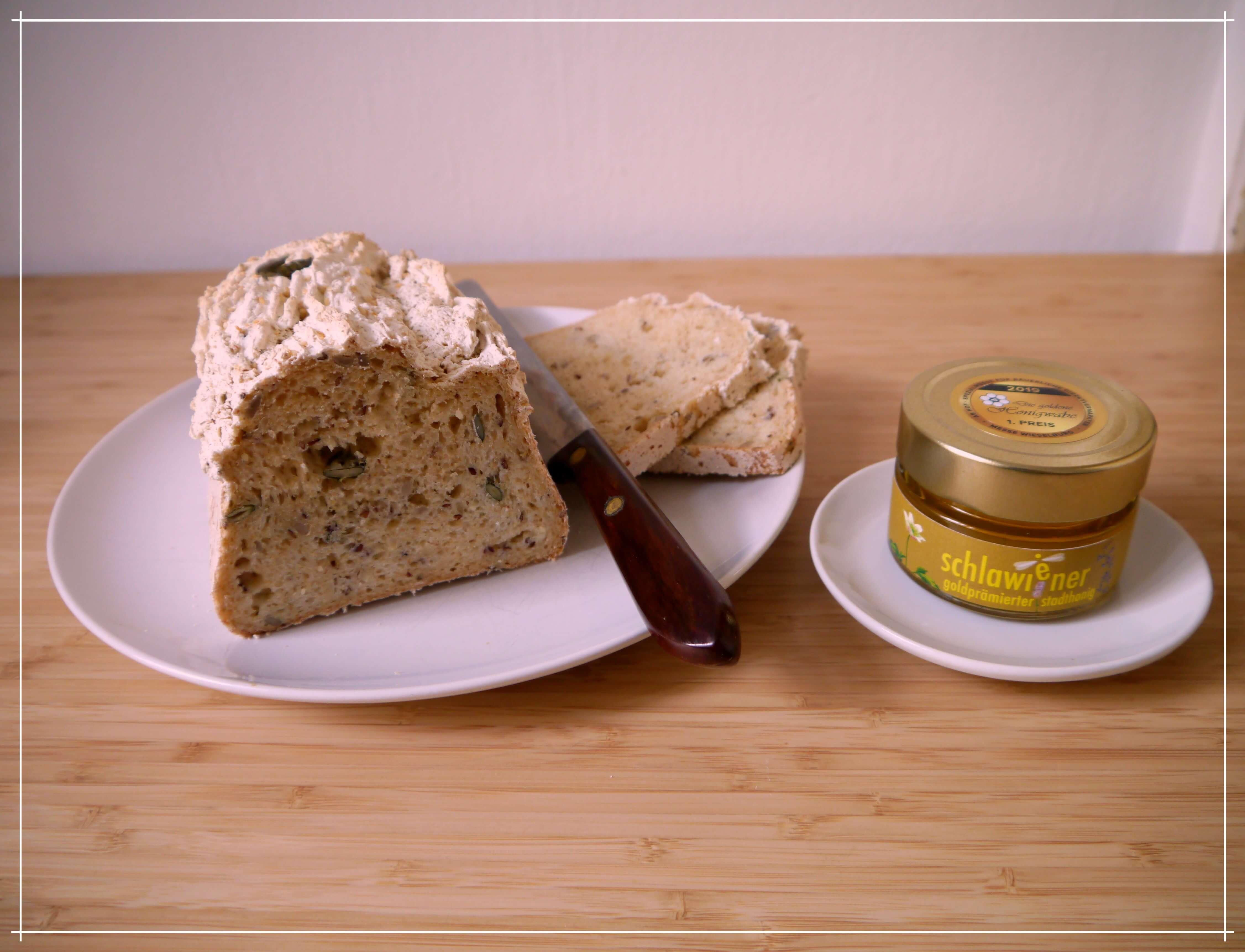 mit schlawiener honig selebr Brot backen